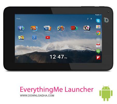 EverythingMe Launcher v3.1274.9016 نرم افزار لانچر EverythingMe Launcher v3.1274.9016 مخصوص اندروید