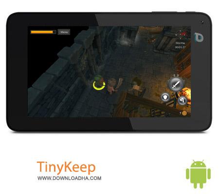 TinyKeep v2.2 بازی فرار از سیاه چال TinyKeep v2.2 مخصوص اندروید