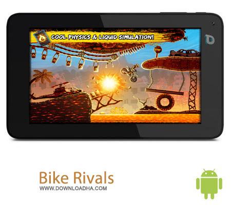 Bike Rivals v1.4.1 بازی موتور سواری Bike Rivals v1.4.1 مخصوص اندروید