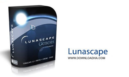Lunascape 6.9.5 نرم افزار مرورگر 3 موتوره Lunascape 6.9.5