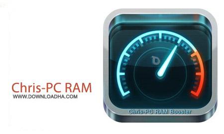 Chris PC RAM Booster 2.80 نرم افزار افزایش سرعت سیستم Chris PC RAM Booster 2.80