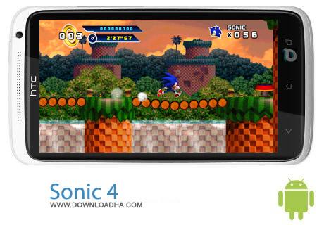 Sonic 4 Episode I V1.00 بازی خاطره انگیز Sonic 4 Episode I V1.00 مخصوص اندروید