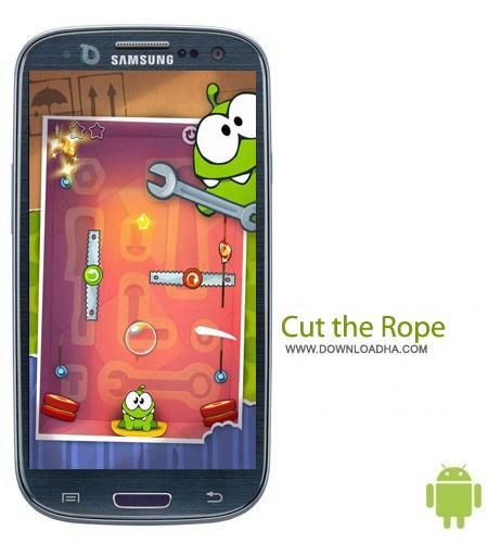 بازی بریدن طناب Cut the Rope v2.5.2 مخصوص اندروید
