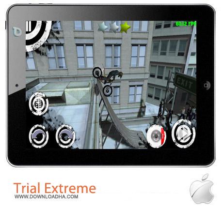 Trial Extreme HD v1.0 بازی موتور سواری Trial Extreme HD v1.0 مخصوص آیفون ، آیپد و آیپاد