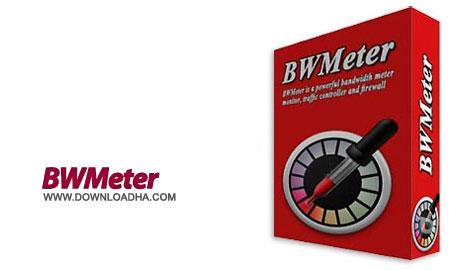 BWMeter%206.8.3 نرم افزار کنترل و نمایش میزان مصرف پهنای باند BWMeter 6.8.3