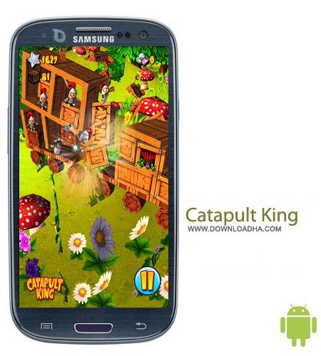 بازی نجات شاهزاده Catapult King v1.5.0 مخصوص اندروید