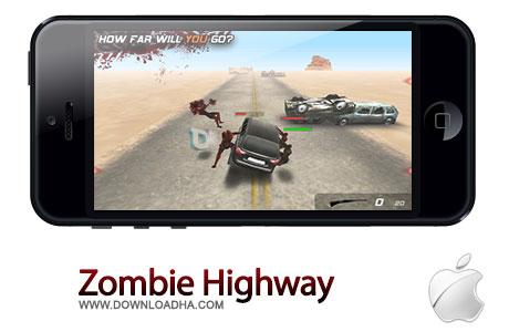 بازی جذاب Zombie Highway 1.10.4 مخصوص آیفون و آیپد