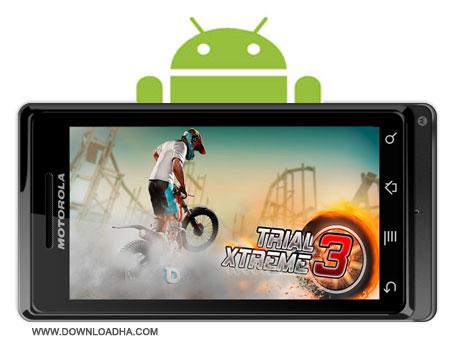 بازی موتور سواری Trial Xtreme 3 v7.2 مخصوص اندروید