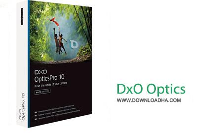 DxO Optics Pro 10.4.0 نرم افزار افزایش کیفیت تصاویر دوربین DxO Optics Pro 10.4.0 Build 480