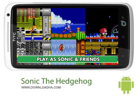 Sonic The Hedgehog 2 V3.1.5 بازی سونیک Sonic The Hedgehog 2 v3.1.5 مخصوص اندروید