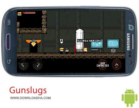 Gunslugs 2 v1.4.6 بازی تفنگی Gunslugs 2 v1.4.6 مخصوص اندروید