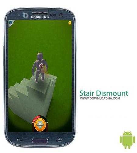 Stair Dismount v2.9.0 بازی سرگرم کننده Stair Dismount v2.9.0 مخصوص اندروید