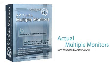 Actual Multiple Monitors v8.3.0 نرم افزار مدیریت چند مانیتور Actual Multiple Monitors v8.3.0