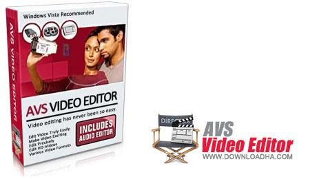 نرم افزار مدیریت فایل های تصویری AVS Video Editor 7.1.2.262