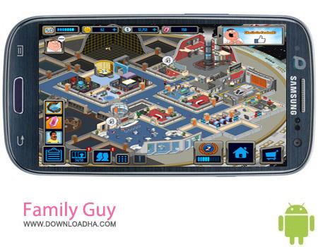 Family Guy v1.7.9 بازی سرگرم کننده مرد خانواده Family Guy v1.7.9 مخصوص اندروید