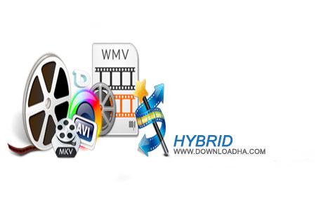 Hybrid%202015.05.01.1 نرم افزار تبدیل فایل های صوتی و تصویری Hybrid 2015.05.01.1