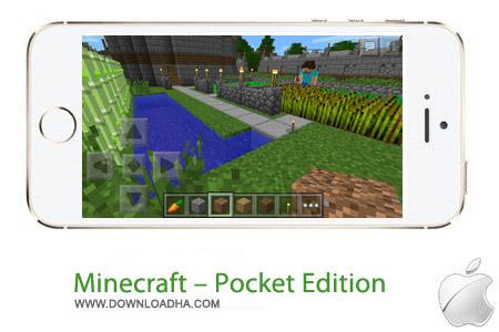 Minecraft %96 Pocket Edition  0.9.5 بازی فکری ماین کرافت Minecraft – Pocket Edition v0.9.5 مخصوص آیفون و آیپد