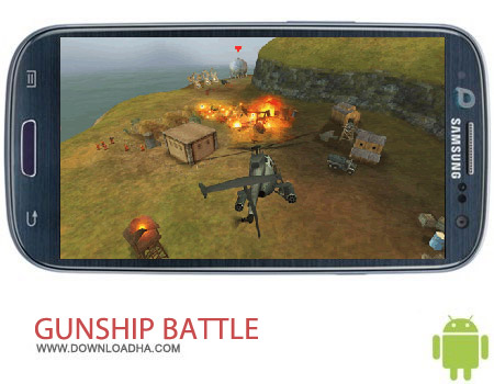 GUNSHIP BATTLE Helicopter 3D v1.4.4 بازی هدایت هلیکوپتر های جنگی GUNSHIP BATTLE: Helicopter 3D 1.4.4 مخصوص اندروید