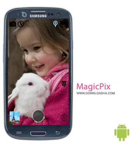 نرم افزار عکس برداری MagicPix Pro Camera HD v2.4 مخصوص اندروید