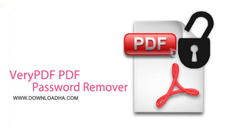 VeryPDF PDF Password Remover 4.0 نرم افزار حذف پسورد پی دی اف VeryPDF PDF Password Remover 4.0