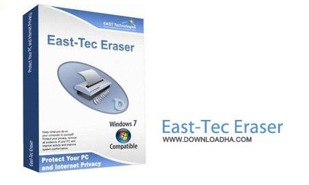 East Tec Eraser نرم افزار حفظ حریم خصوصی East Tec Eraser 2015 12.2.1.100