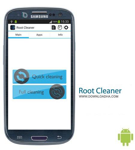 نرم افزار بهینه ساز رم Root Cleaner 3.8.0 مخصوص اندروید