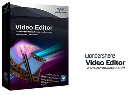 Wondershare%20Video%20Editor%206.0.1 نرم افزار ویرایش فایل های ویدئویی Wondershare Video Editor 6.0.1