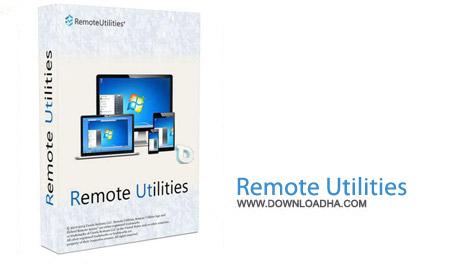 Remote Utilities Free 6.3.0.1 نرم افزار کنترل از راه دور کامپیوتر Remote Utilities Free 6.3.0.1