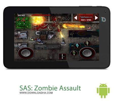 بازی حمله زامبی ها SAS: Zombie Assault 4 v1.3.1 مخصوص اندروید