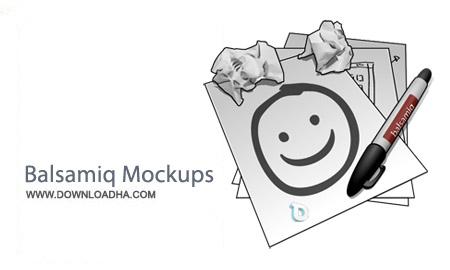 Balsamiq Mockups 3.0.1 نرم افزار طراحي الگوي فرم برنامه ها Balsamiq Mockups 3.0.1
