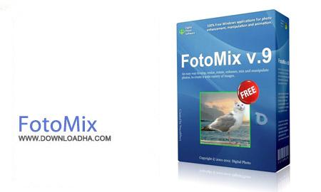 FotoMix 9.2 نرم افزار ادغام حرفه ای عکس ها FotoMix 9.2