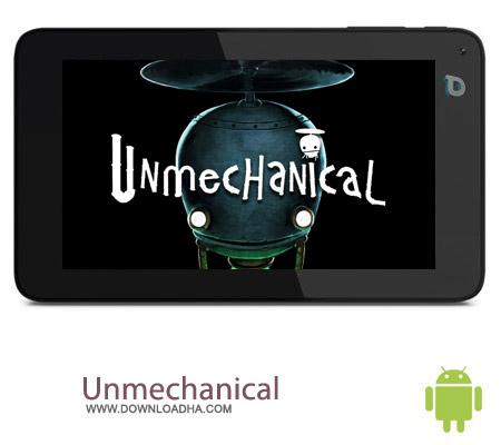 Unmechanical v1.04 بازی فکری دنیای ربات ها Unmechanical v1.04 مخصوص اندروید