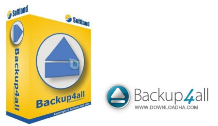 نرم افزار تامین امنیت اطلاعات Backup4all 5.4.784