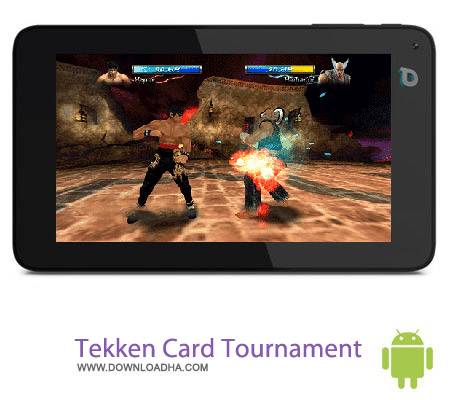 Tekken Card Tournament v3.315 بازی تیکن Tekken Card Tournament v3.315 مخصوص اندروید