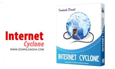 Internet Cyclone 2.25 نرم افزار بهینه ساز و افزایش سرعت اینترنت Internet Cyclone 2.25
