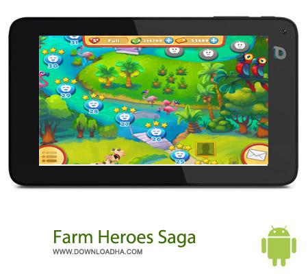 بازی مزرعه Farm Heroes Saga 2.13.6 مخصوص اندروید