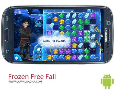 Frozen Free Fall v2.7 بازی سرگرم کننده Frozen Free Fall v2.7 مخصوص اندروید