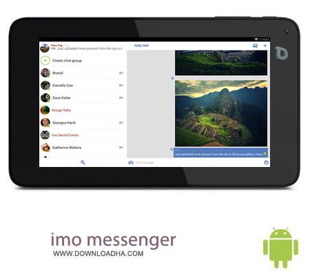 imo messenger v8.4.1 نرم افزار مسنجر imo messenger v8.4.4 مخصوص اندروید