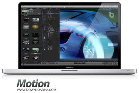 Apple%20Motion%205.2.1 نرم افزار ایجاد افکت های متنوع در فیلم Apple Motion v5.2.1   مک