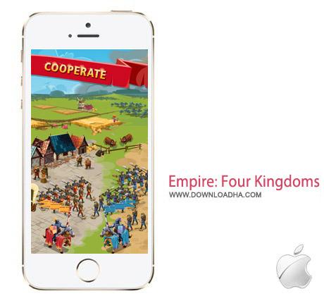 Empire Four Kingdoms 1.10.60 بازی استراتژیک Empire: Four Kingdoms 1.10.60 مخصوص آیفون ، آیپد و آیپاد