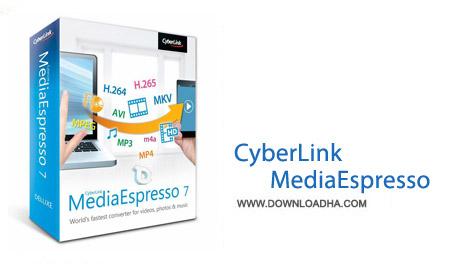 CyberLink MediaEspresso Deluxe 7.0.6423 نرم افزار مبدل فرمت های مالتی مدیا CyberLink MediaEspresso Deluxe 7.0.6423