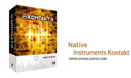 Native Instruments Kontakt 5.5.1 نرم افزار آهنگسازی مدرن Native Instruments Kontakt v5.5.1   مک