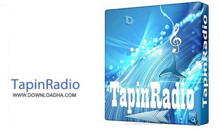 TapinRadio 1.70.5 نرم افزار گیرنده ایستگاه های رادیویی TapinRadio 1.70.5