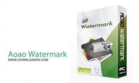 Aoao Watermark 8.6 نرم افزار تبدیل همزمان فرمت تصاویر Aoao Photo Watermark 8.6