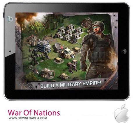 War Of Nations 2.3.2 بازی استراتژیک War of Nations 2.3.2 مخصوص آیفون ، آیپد و آیپاد