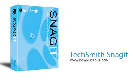 TechSmith%20SnagIt%2012.4 نرم افزار فیلم و عکس برداری از دسکتاپ TechSmith SnagIt 12.4