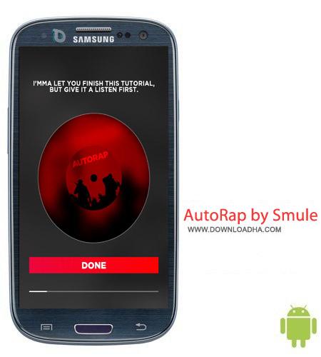 نرم افزار رپ خوانی AutoRap by Smule v2.0.9 مخصوص اندروید