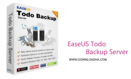 EaseUS Todo Backup Advanced Server 8.5 نرم افزار تهیه پشتیبان از ویندوز EaseUS Todo Backup Advanced Server 8.5