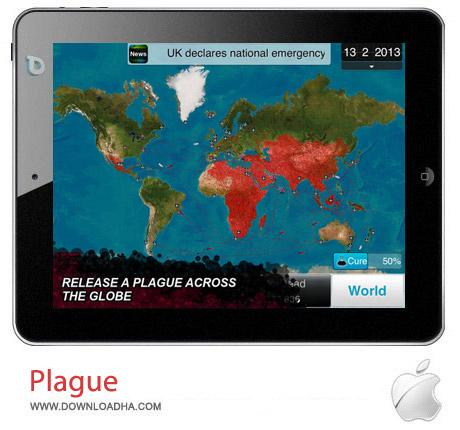 plague 1.9.1 بازی ترسناک Plague Inc v1.9.1 مخصوص آیفون ، آیپد و آیپاد