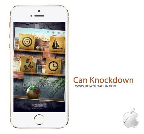 Can Knockdown 2 1.12 بازی هدف گیری Can Knockdown 2 v1.12 مخصوص آیفون و آیپد